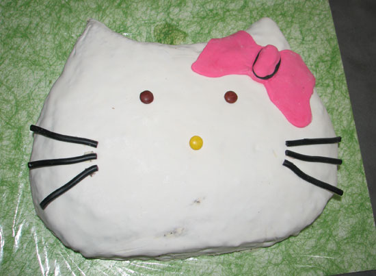 Hello kitty kaka